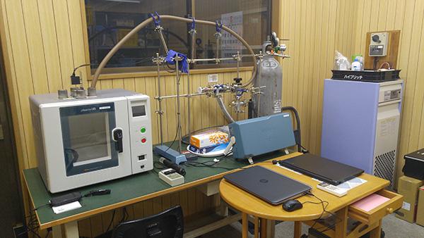 マイクロ波プラズマ処理用試験装置